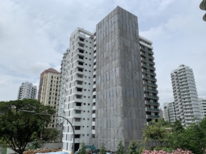 Perfect Ten Nearby Condos Transacted Price in PSF